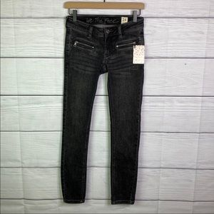 NWT We the Free Galaxy Black Skinny Jeans